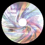 Birth of Light CD Titelliste